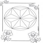 Mandala-malesider - Mandala 6
