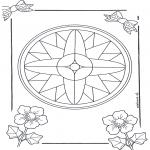 Mandala-malesider - Mandala 7