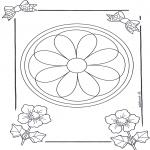 Mandala-malesider - Mandala 8