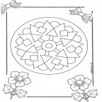 Mandala-malesider - Mandala 9