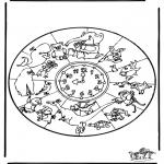 Mandala-malesider - Mandala animals 1