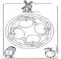 Mandala apple