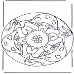 Mandala-malesider - Mandala dwarf