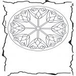 Mandala-malesider - Mandala flowers 3