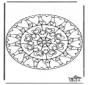 Mandala hearts 6