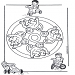 Mandala-malesider - Mandala monkey