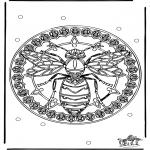 Mandala-malesider - Mandala wesp