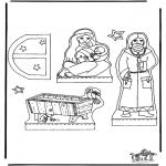 Jule-malesider - Manger part 1