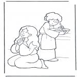Bibel-malesider - Martha and Mary