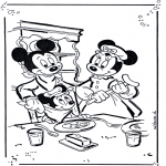 Sjove figurer - Mickey and Minnie