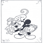Sjove figurer - Mickey and monkey