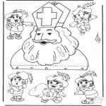 Prik-kort - Mobiel Sinterklaas