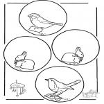 Håndarbejde - Mobile animal