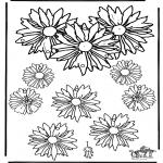 Håndarbejde - Mobile flowers