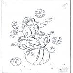 Dyre-malesider - Monkey on ball