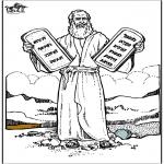 Bibel-malesider - Moses 4