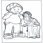 Børne-malesider - Mother and children 2