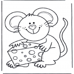 Dyre-malesider - Mouse with cheese