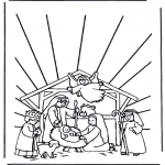 Jule-malesider - Nativity story 11