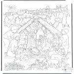 Jule-malesider - Nativity story 14