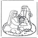 Jule-malesider - Nativity story 9