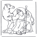 Bibel-malesider - Noah and a camel