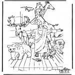 Bibel-malesider - Noa's ark 3