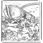 Bibel-malesider - Noa's ark 4