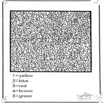 Håndarbejde - Number coloring
