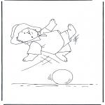 Børne-malesider - Paddington bear 11