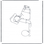 Børne-malesider - Paddington bear 12