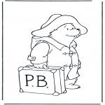 Børne-malesider - Paddington bear 7