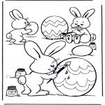 Tema-malesider - Painting eggs 1