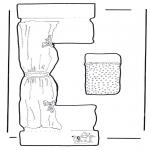 Håndarbejde - Paper craft crib