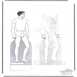Håndarbejde - Paper doll 2