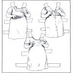 Håndarbejde - Paper doll Clothing 6