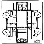 Håndarbejde - Papercraft car