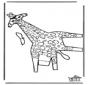 Papercraft giraffe 2