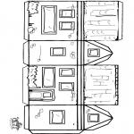 Håndarbejde - Papercraft house 2