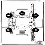 Håndarbejde - Papercraft Hummer
