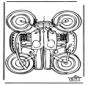 Papercraft motor