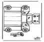 Papercraft truck
