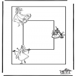Håndarbejde - Photoframe Cinderella