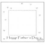 Håndarbejde - Photoframe for dad