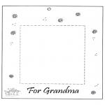 Håndarbejde - Photoframe for grandma