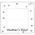 Håndarbejde - Photoframe for mum