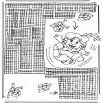 Prik-kort - Pieten doolhof 2