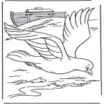 Bibel-malesider - Pignon from ark