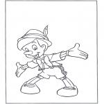 Sjove figurer - Pinocchio