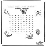 Håndarbejde - Pokemon puzzle 2